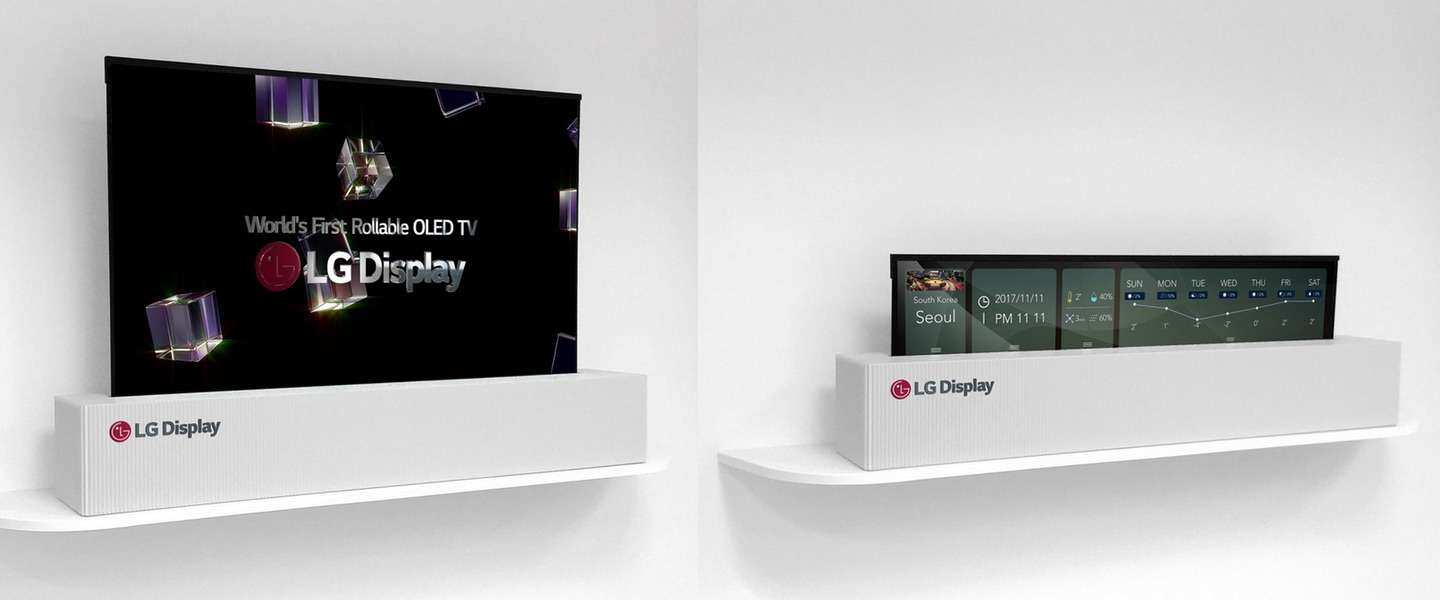 LG, Worlds first rollable OLED TV
