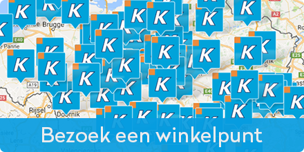 Bezoek een Krëfel winkelpunt