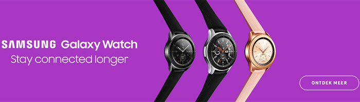 Ontdek de Samsung Galaxy Watch