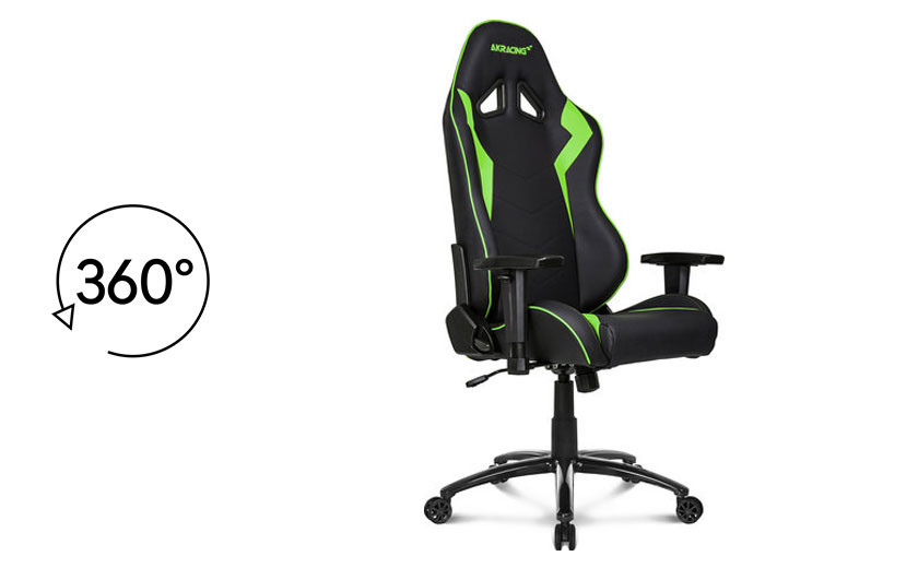 Gaming chair 360 movement