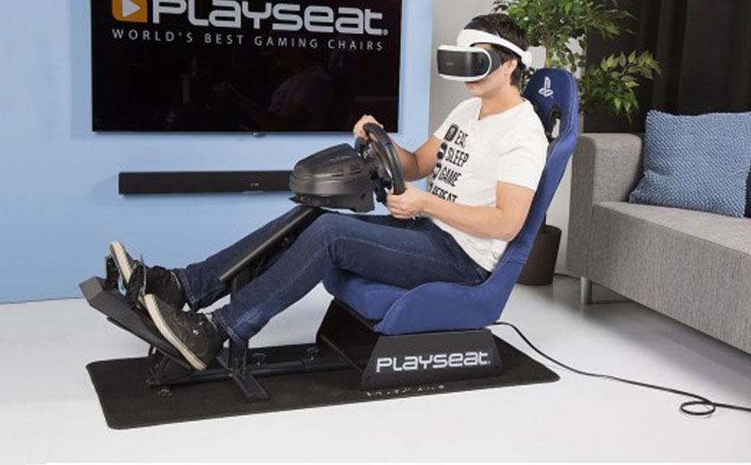 Cockpit gaming chair