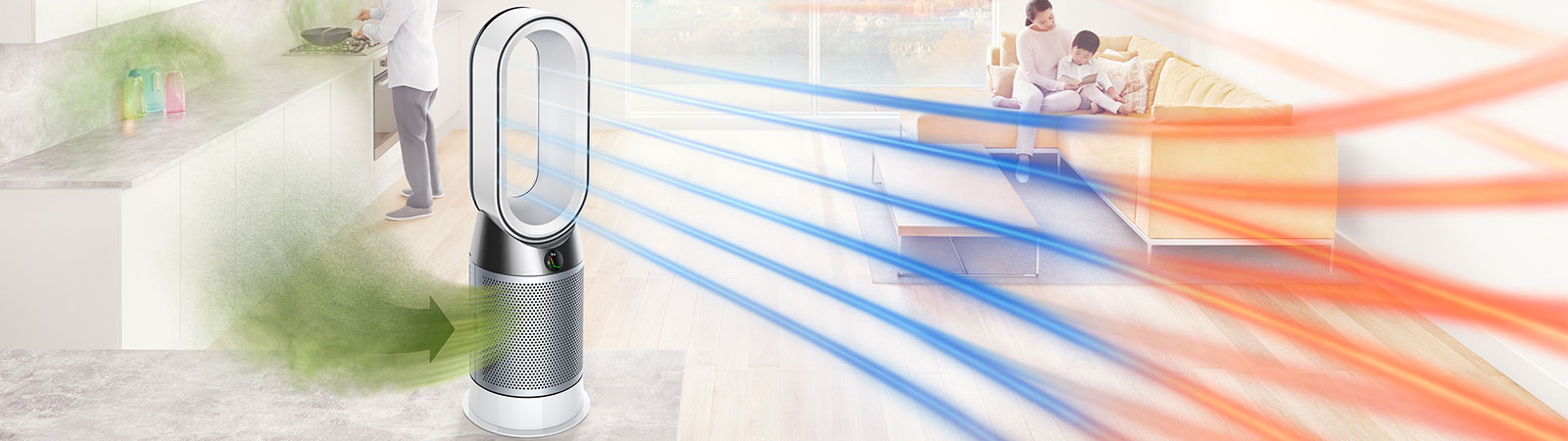 Dyson Pure Cool+Hot