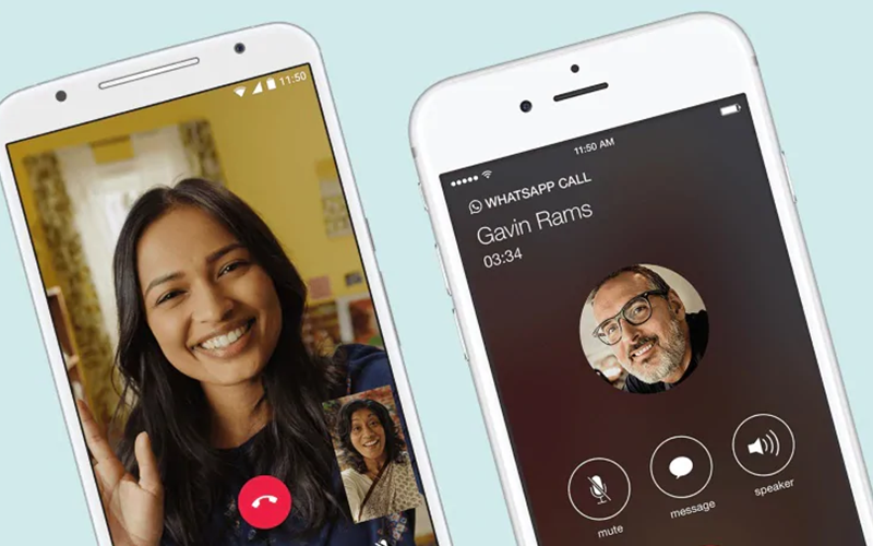 Whatsapp, Messenger of Facetime