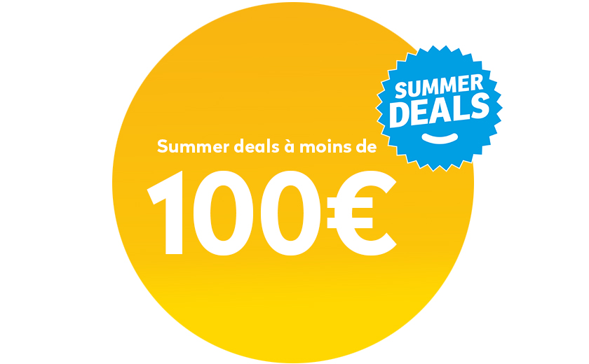 Summer deals onder 100€