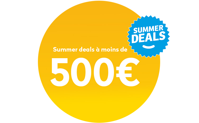 Summer deals onder 500€