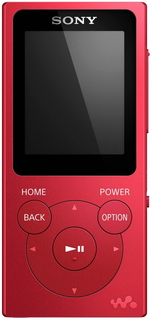 Sony NWE394R MP3 8GB Rood MP3/MP4-speler