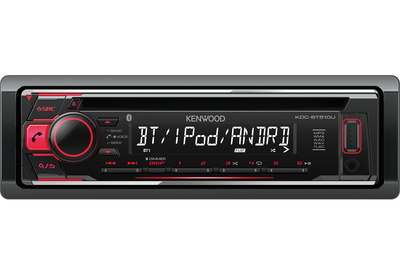 Kenwood Electronics KDC-BT510U 50W Bluetooth Zwart autoradio