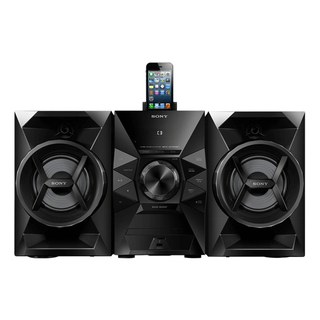 MHCEC619IP Home audio mini system 120W Noir