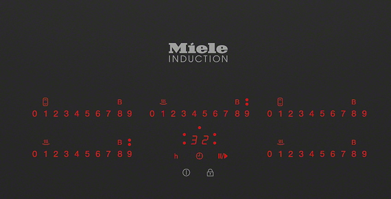 Miele Taque induction KM6389