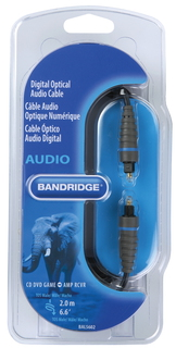 Bandridge Bandridge BAL5602 2m Noir câble audio