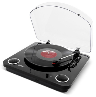 iON Max LP Belt-drive audio turntable Zwart