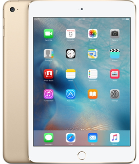 iPad mini 4 128 GB 4G Goud