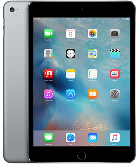Apple iPad mini 4 128 GB Wi-Fi Spacegrijs