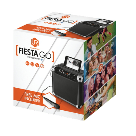 Trust Fiësta Go Bluetooth Party Speaker