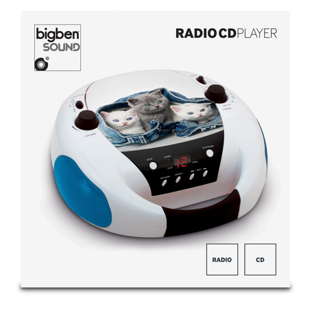 "BigBen Interactive Lecteur CD Portable ""On the Go!"" (My Little Cats)"