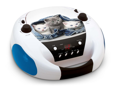 "Interactive Lecteur CD Portable ""On the Go!"" (My Little Cats)"