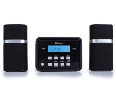 Audiosonic HF-1251 Home audio micro system 6W Zwart home audio set