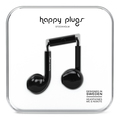 Happy Plugs Earbud Plus Oortjes - Zwart