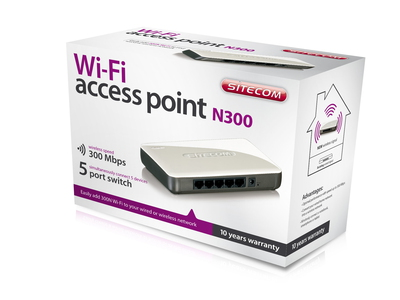 Sitecom WLX-2000 N300 Wi-Fi Access Point