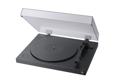 PSHX500 Belt-drive audio turntable Noir platine