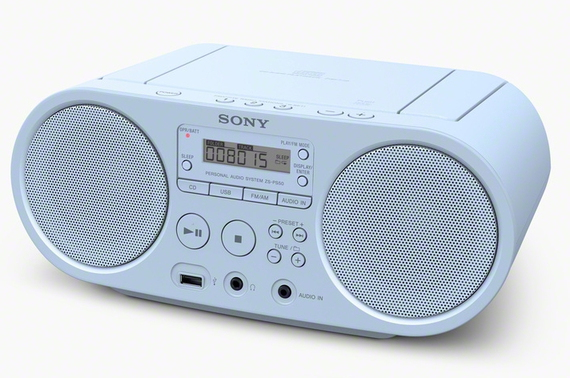Sony ZS-PS50 - Bleu clair - Radio