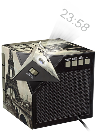 "BigBen Interactive Radio-réveil ""Paris"""