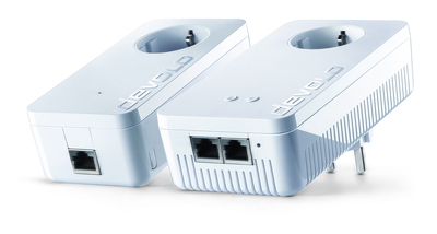 dLAN 1200+ WiFi ac Starter Kit 1200Mbit/s Ethernet LAN Wi-Fi Wit 2stuk(s) PowerLine-netwerkadapter