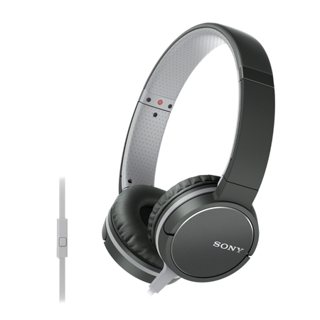 Sony MDR-ZX660AP Casque - Gris