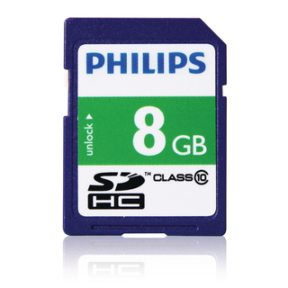 Philips Cartes SD FM08SD45B/10
