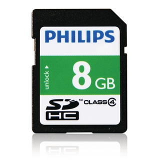 Philips Cartes SD FM08SD35B/10