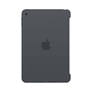 Apple Coque en silicone iPad mini 4 - Gris anthracite
