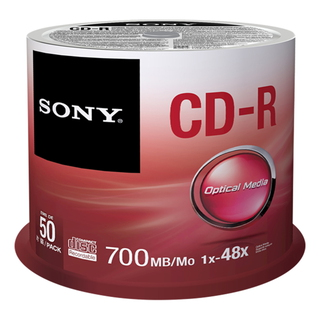 50 CD pack - 50CDQ80SP