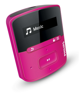 Philips Lecteur MP3 GoGear SA4RGA04PN/12 4GB Rose