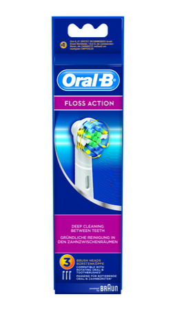 Opzetborstels Floss Action EB25