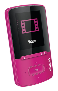 Philips MP4-speler GoGear SA4VBE04PN/12 4GB Roze