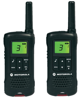 Motorola TLKR T60 2 Pack 8channels radio bidirectionnelle