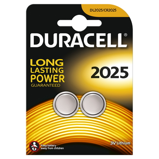 Duracell CR2025 Lithium 3V pile non-rechargeable