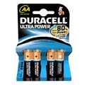 Duracell AA Ultra Power (4pcs) Alcaline 1.5V pile non-rechargeable