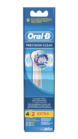 Oral-B Opzetborstels Precision Clean EB 20