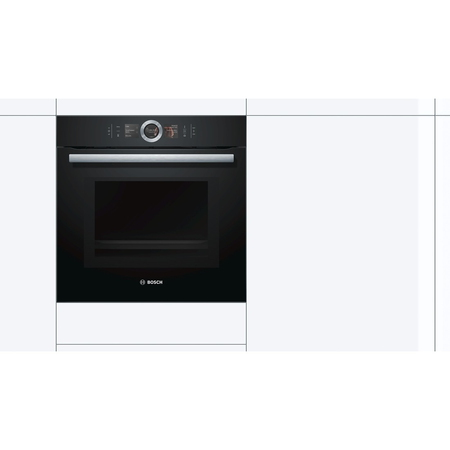 Bosch Inbouw oven HNG6764B6 Home Connect