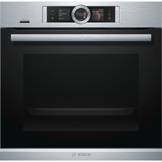 Bosch Stoomoven HSG636XS6 Home Connect