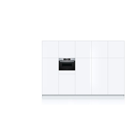 Bosch Four micro-ondes encastrable CNG6764S6 Home Connect