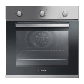 Candy FPE 602A/6X Elektrische oven 65l A+ Roestvrijstaal oven