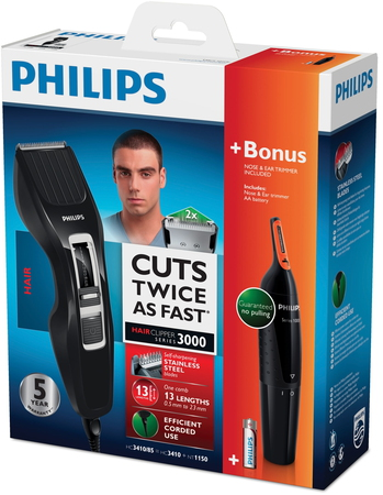 Philips Tondeuse Hairclipper series 3000 HC3410/85