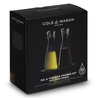 Cole&Mason Set Olie- en azijnfles - 350 ml