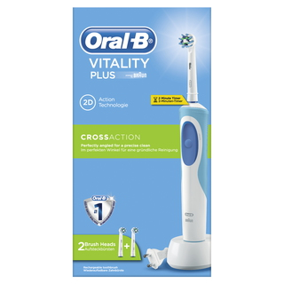 Brosse à dents électrique Vitality Plus CrossAction