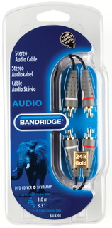 Bandridge BAL4201 audio kabel