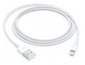 Apple Apple MD818ZM/A 1m USB A Lightning Wit mobiele telefoonkabel