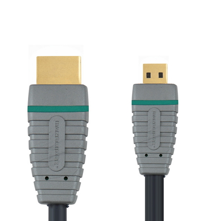Bandridge BVL1702 HDMI + HDMI kabel - 2m