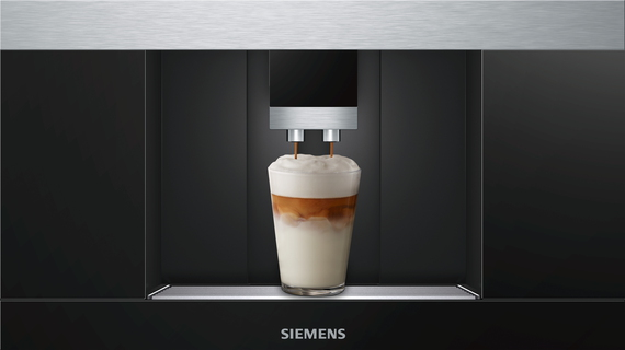 Siemens machine à café encastrable CT636LES6 Home Connect